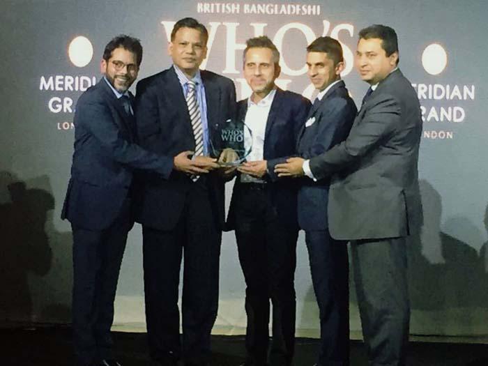 Who's who award_Taj Stores